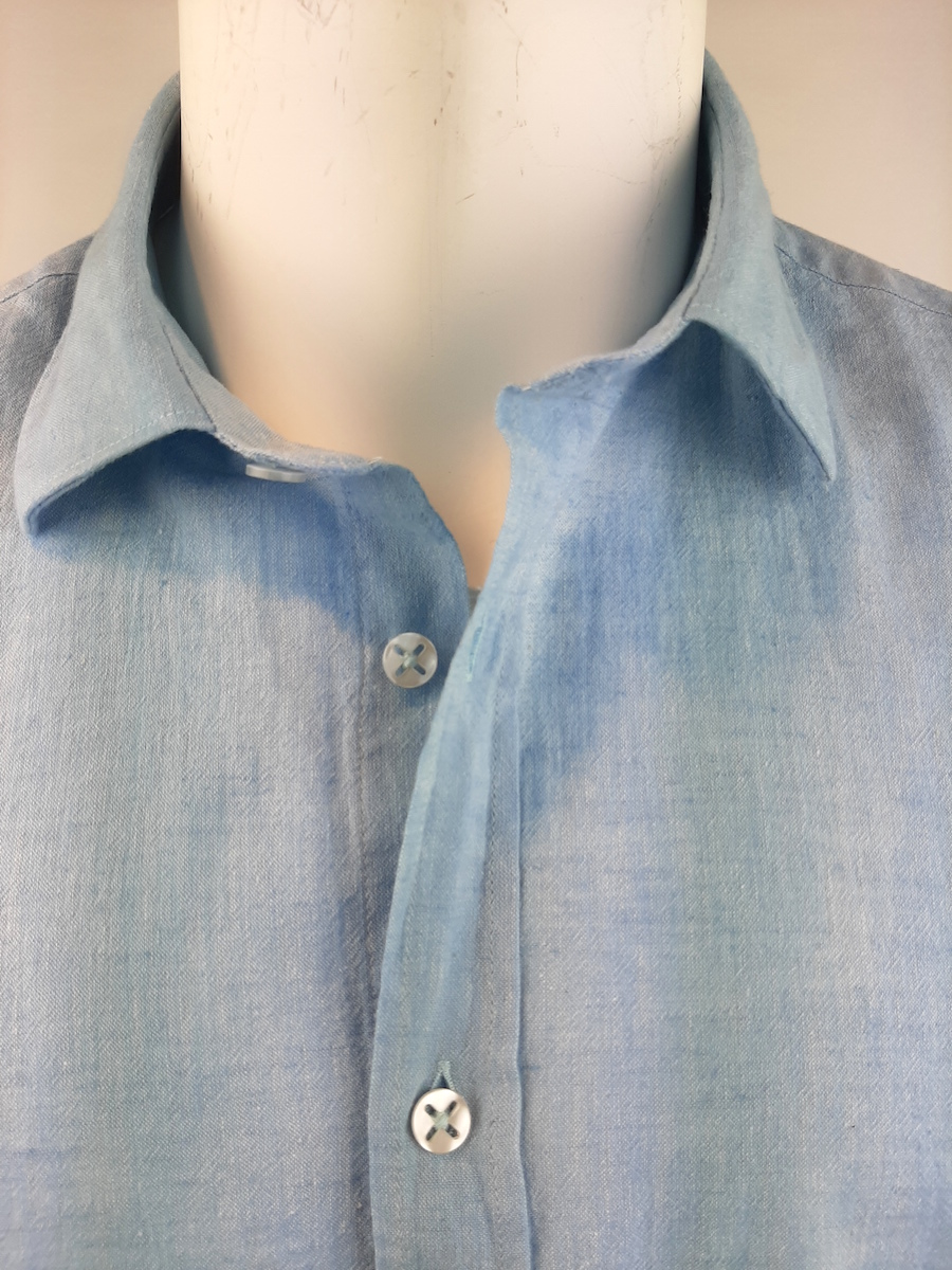Close Up  shirt lange mouw linnen