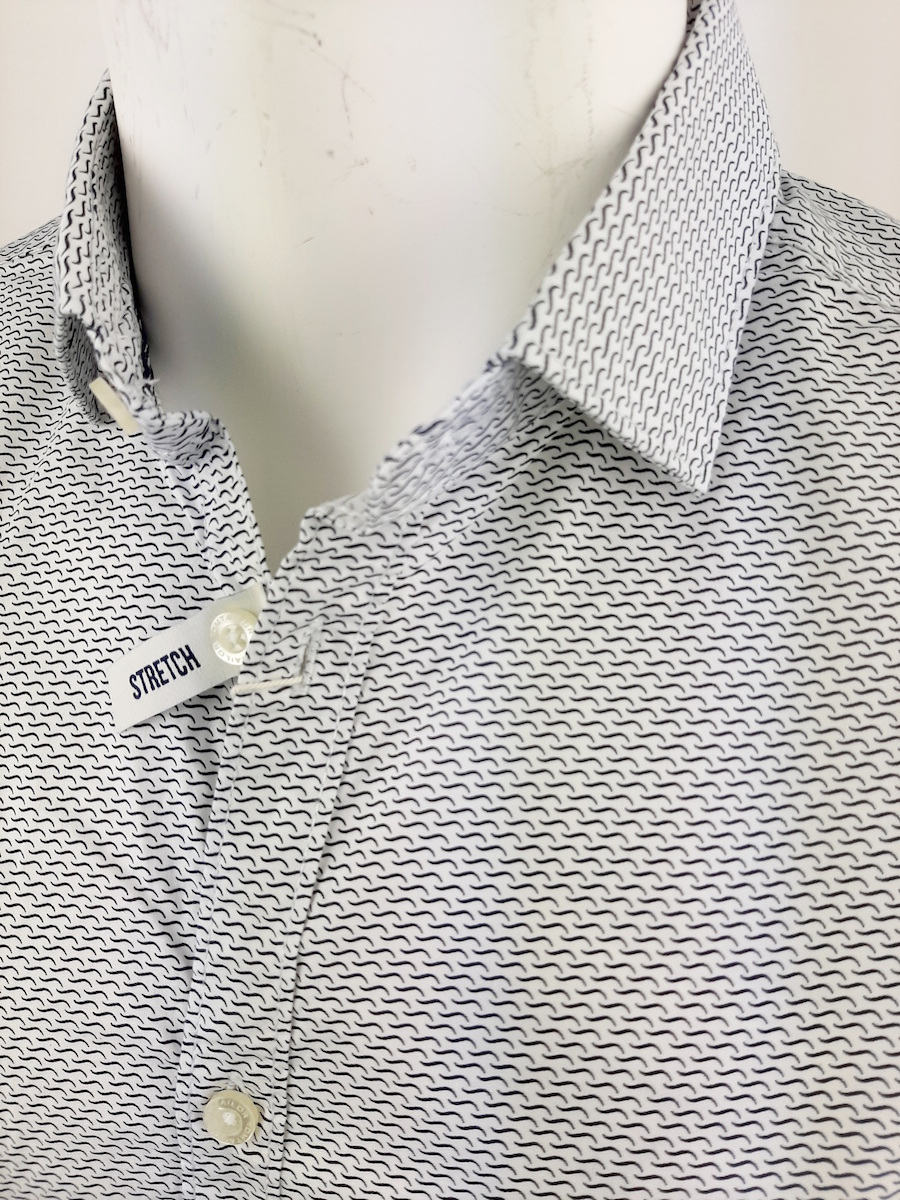Tom Tailor  shirt lange mouw katoen stretch